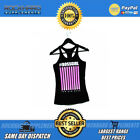 FKN GYM WEAR BOSS GIRL BARCODE PINK TANK | GYM CLOTHING APPAREL FOR HER FKN GIRL