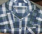 Nightshirt Sleep Shirt Flannel Plaids S- XL Perfect Price for You or Gift 'Made