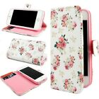 Rose Flower Leather Wallet Card Stand Flip Cover Case for iPhone 6/6S/6S Plus
