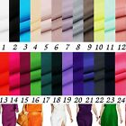100% pure silk crepe de chine 14 MM 1-25#  solid colors optional