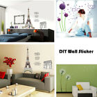 DIY Removable Vinyl Wall Art Sticker Living Room Wall stickers Home Room Decor