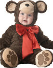 Lil' Cute Teddy Bear Toddler Baby Infant Halloween Costume S-L (6 months-2T)