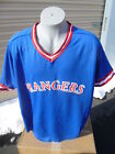 Texas Rangers Baseball Mens Jersey Licensed Don Alleson Sizes S, XL