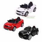 Electric 12V Kids Ride on Car Range Rover Evoque Jeep Parental Control MP3 Input