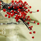 3mm Matt Duo Colours Double Heads Eco Friendly Artificial Flower Stamen 144pcs