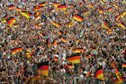 GERMANY WORLD CUP 1990 FANS CELEBRATING 04 PHOTO PRINT