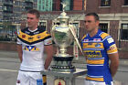 LEEDS RHINOS v  CASTLEFORD TIGERS 2014 CHALLENGE CUP WINNERS 03 PHOTO PRINT