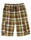 NWT GYMBOREE ISLAND HOPPER PINEAPPLE FAMILY GREEN BROWN YELLOW PLAID SHORTS