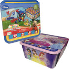 DISNEY MICKEY MOUSE PRINCESS TUB BOARD GAMES FUN GIFT KIDS PLAY TOY