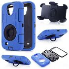 Defender Case w/Build in Screen Protector w/Belt Clip for Samsung Galaxy S4
