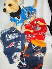 NFL Fleece Dog Coats size MEDIUM 13-20lbs  washable see more in E-bay store!