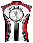 Primal Wear Old Fart Cycling Jersey Men's Sleeveless with DeFeet Socks NEW tanks