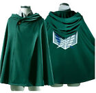 Anime Shingeki no Kyojin Cloak Cape Clothes Cosplay Attack on Titan Plus Size