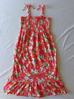 Girls The Children's Place Rosy Coral Floral Print Sun Dress Multi Sizes $19.95