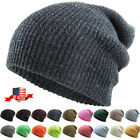 Slouchy Beanie Baggy Fit Winter Knit Ski Hat Skull Cap Oversize