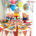 Circus Party 1st Birthday Essential Party Kits for 8, 16, 24, 32, and 40 Guests!