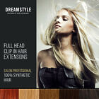 Hair Extensions Clip In Hair Extensions Full Head Straight Black Red & Blondes