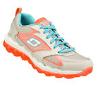 Skechers SKECH-AIR Women's Training Shoes LIGHT GRAY/CORAL 11848LGCL