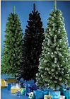 3FT 4FT 5FT 6FT 7FT SLIM GREEN FROSTED BLACK NOBLE CHRISTMAS TREE