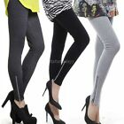 Winter Warm Thick Womens Cotton Leggings Full Length Free Size 3 Colors