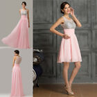 2 STYLE~~LONG/SHORT Sexy Girls Bridesmaid Party Races Prom Formal Evening Dress