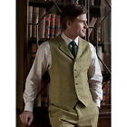 Brook Taverner - Inverness Tweed Waistcoat Mens Classic In A Traditional Style