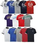New Sergio Tacchini Mens Crew Neck T-Shirt/top  S M L XL XXL    retro vintage