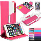 Flip Wallet Leather Case Cover For Apple iPhone 6 4.7 FREE Screen Protector  AU