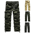 HOT SALE Cool Sexy New Men Causal Military Cargo Combat Slim Long Pants Trousers