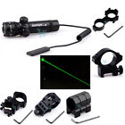 Tactical Green Laser Sight Rifle Dot Scope 980FT Range w Pressure Switch Mount