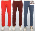 Mens Bellfield Trousers Casual Skinny Fit Stretchy Jeans Pants Designer Chinos