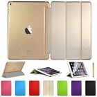 AU Smart Cover + Hard Back Case for New Apple iPad 6 iPad Air 2 2014 Air2
