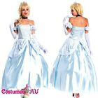 Deluxe Disney Cinderella Princess Costume Fairy Tale Fancy Dress Ball Gown
