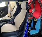 SELECT MODEL and COLOR mix VELOUR AND SYNTHETIC TWO FRONT CUSTOM CAR SEAT COVERS