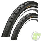 """Pair of Black  Continental Tour Ride 20"""" BikeTyre 20 x 1.75  With Tubes"""