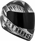 Speed and Strength SS1100 Stars and Stripes Full Face Motorcycle Helmet Black