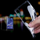 Ultra-thin Transparent TPU Gel Case Cover For Sony Xperia Z1 Z2 Z3 / Z3 Compact