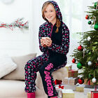 Avon One Direction 1d All In One Onesie 7/8 9/10 11/12 13/14 Xmas Pyjamas New