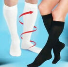 FD1276 Varicose Vein Stock Running Sports Knee High Relief Compression Socks