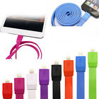 Big Noodle USB Sync Data Charging Charger Cable Cord for iPhone 5 iPhone 6 Plus