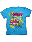 Cherished Girl Relax No Worries God's Hand Cross Girlie Christian Bright T Shirt