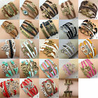 Woven Believe Love Friendship Dream Freedom Bracelets buy 2 get 1 free (add 3)