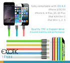 8 Pins Lightning USB Cable for iPad Air iPad Air2 iPad Mini w TPE+Copper Wire