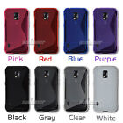 S-line Gel Silicone Rubber TPU Skin Case Cover for Samsung Galaxy S5 Active,G870