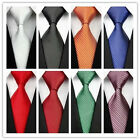 Men's New Classic Fashion Striped Tie JACQUARD WOVEN Silk Suits Ties Necktie