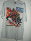 New M or XL RIO LOBO COWBOY T SHIRT  by artist ALAN B HUCK pic from 4 prints