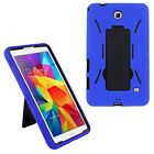 """Hybrid Impact Shockproof Case Cover +Stand For Samsung Galaxy Tab 4 7"""" 8"""" 10.1"""""""