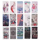 1x For Htc Nokia Sony Motorola Wallet Card PU Leather Flip Stand Case Cover Skin