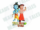 Chhota Bheem Aur Kris Cake Decoration icing sheet personalised Birthday Party