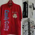 New Spring Sewn Embroidered Zip up Jacket Dog Candy Galfy Crutch Japan Style L